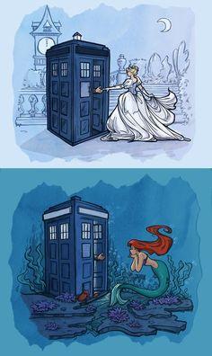 Dr Who meets Disney