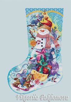 Excited to share this item from my shop: Christmas boot cross stitch pattern Cute mices x-stitch chart Colorful new year sock embroidery Winter christmas stocking chart PDF file Needlepoint Christmas Stocking Kits, Cross Stitch Christmas Stockings, Cross Stitch Stocking, Cross Stitch Tree, Needlepoint Stockings, Free Cross Stitch Charts, Cross Stitch Patterns, Christmas Tree Embroidery Design, Christmas Patterns