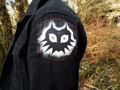 Majoras Mask punk patch  legend of zelda  diy lost woods