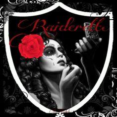 Raiderette Raider Nation Okland Raiders, Raiders Stuff, Raiders Girl, Raiders Football, New Year Poem, Oakland Raiders Images, Raiders Wallpaper, Smile Images, Sugar Skull Makeup