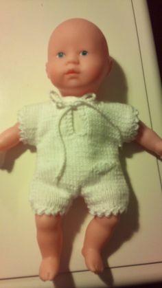 Baby Corolle 20 cm. Opskrift nr. 1