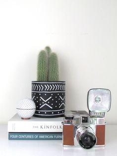 DIY Mudcloth Planters | francois et moi #cactus