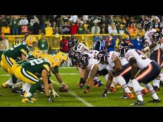 The fans at Lambeau Field will be treated to a game between the Chicago Bears and the Green Bay Packers when they take their seats on Thursday. Packers Vs Bears, Bears Game, School Football, Tv Channels, Free Tips, Chicago Bears, Green Bay Packers, American Football, Nfl