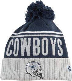 Dallas Cowboys New Era NFL Cheer Cuff Pom Knit - Mens - Navy 82384054c
