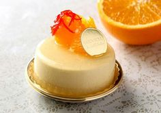 Orange Pudding of Joel Robouchon Paris in Tokyo