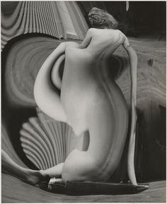 Distortion #82; André Kertész (American, born Hungary, 1894 - 1985); Paris, France; 1933; Gelatin silver print; 24.4 x 19.8 cm (9 5/8 x 7 13/16 in.); 85.XM.176.8; J. Paul Getty Museum, Los Angeles, California