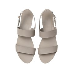 Flat Sandals ❤ liked on Polyvore featuring shoes, sandals, flats, footwear, shoes - sandals, flat pump shoes, flats sandals, flat footwear, flat heel sandals and flat shoes