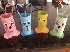 Conejitos de Pascua para chuches Sunday School Activities, Rainy Day Activities, Easter Activities, Kindergarten Activities, Activities For 5 Year Olds, Christmas Crafts For Kids, Easter Crafts, Fun Diy Crafts, Arts And Crafts