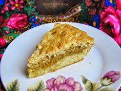 Polish apple cake sharlotka