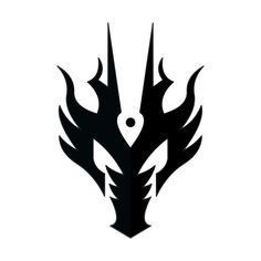 cool symbols to draw that look like A   Dragon Symbol