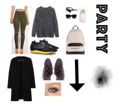 """""""Balenciaga outfit < like and comment >"""" by pourmoiettoi on Polyvore featuring mode, Toast, Balenciaga en Burberry"""