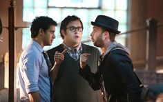 the guys frazzled in Episode 7- Father's Day #TeamScorpion