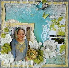 DT project by Tracey Gregory using the new May 2014 kit, Bohemian Spring.   swirlydoos.com