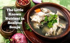 It's not omega-3s. Nor is it minerals. Rather, the little-known nutrient in seafood soups is hinted at in an ancient South American proverb.    #seafoodsoups #souprecipes #bonebroth #collagen Fish Chowder, Clam Chowder, Benefits Of Gelatin, Seafood Soup Recipes, Seafood Stock, Lobster Bisque, Whole Food Diet, Beef Broth, The Cure