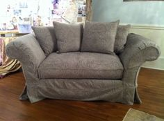 Shabby Chic® Grace Slipcovered Cuddle Chair
