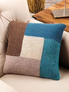 Free Crochet Pattern Download -- This Geometric Pillow, designed by Sandi Rosner, is featured in episode 6, season 5 of Knit and Crochet Now! TV. Learn more here: https://www.anniescatalog.com/knitandcrochetnow/patterns/detail.html?pattern_id=23&series=2