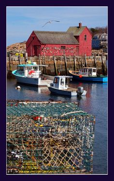 Rockport, MA -- one of my favorite places The Beautiful Country, Beautiful Places, Great Places, Places To See, Atlantic Canada, Boat Art, Paint Photography, Deep Sea Fishing, Fishing Villages