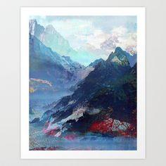 Untitled (Landscape) 20130913a Art Print by Tchmo - $18.00