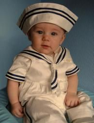 Duke Little Darlings Victorian Sailor Christening Set Outfit For Christening, Christening Gowns, Sailor Outfits, Baby Boy Outfits, Baby Dungarees, Sailor Fashion, Baby Boy Romper, Victorian Fashion, Special Occasion