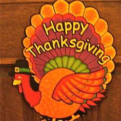 Happy Thanksgiving Everyone! Be safe and enjoy your family and friends this holiday:-)