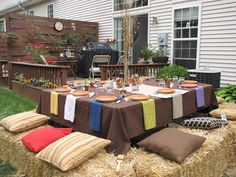 the millers: Early Fall Party