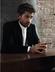 Nikolaj Coster-Waldau is photographed by Johan Sandberg and styled by James Valeri for the May 2014 issue of InStyle magazine.