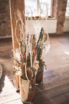 Terracotta Love: trendige Hochzeitsdeko-Ideen - Hochzeitskiste Braut Make-up, Boho Stil, Table Decorations, Wedding, Home Decor, Bow Wedding, Card Wedding, Hair Garland, Fresh Flowers