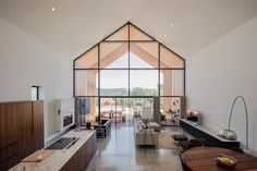 filipe saraiva arquitectos designs pentagonal house-shaped residence in portugal