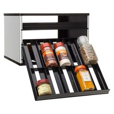 YouCopia Spice Rack 30 Bottle, White is part of Pantry Organization Spices - YouCopia Spice Rack 30 Bottle Color White