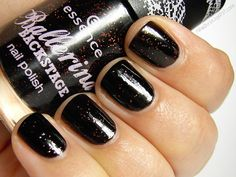 Essence, Ballerina Backstage Trend Edition, Grand-Plié in Black, 3 coats