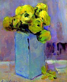 Floris Verster, White Delft Vase with Ranunculus, 1926