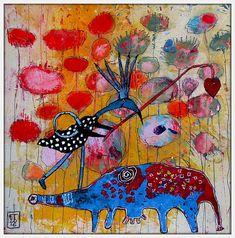 The Art of Fibrite, Elketrittel, mixed media artist. IMG_5094f