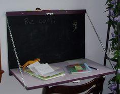 DisappearingDesks   Wall Hanging Desk