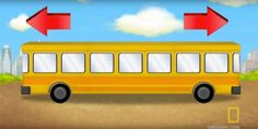 Most Adults Can't Figure Out If This Bus Is Heading Left Or Right. Can You? National Geographic, Brain Games, Mini Bus, Der Bus, Logic Puzzles, Mind Puzzles, Bus Travel, Brain Teasers, Riddles