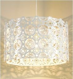Drum Shade Doily by Toke