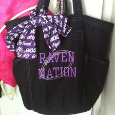 Perfect Purple Friday bag! The Retro Metro shown with Icon-It embroidery/personalization. Photo by jkib31