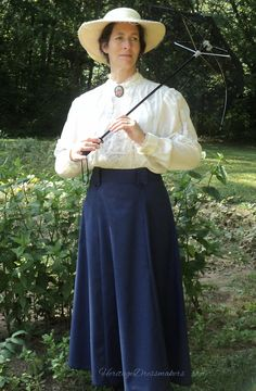 READY TO SHIP Size 10 Handmade Marry Poppins by HeritageDressmakers. Also available for custom order!