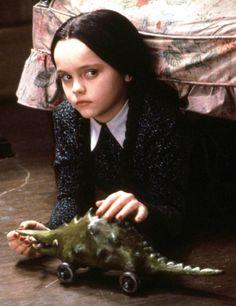 Mercredi, la petite fille de la famille Addams
