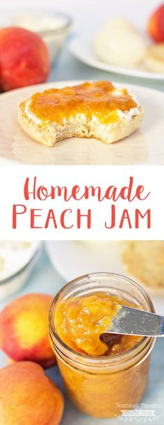 Jelly Recipes, Jam Recipes, Canning Recipes, Fruit Recipes, Sweet Recipes, Canning 101, Pressure Canning, Brunch Recipes, Amigurumi