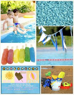 printables Fun in the Sun Pool Party: Decoration Ideas, Menu Ideas and More