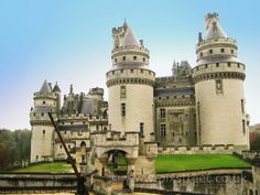 Entrance, Château de Pierrefonds (Pierrefonds Castle), France