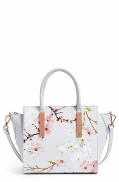 26d5b261326cf Ted Baker London Blossom Leather Tote Tote Handbags