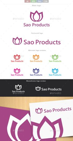 Sao Products - Logo Design Template Vector #logotype Download it here: http://graphicriver.net/item/sao-products-logo/9150490?s_rank=1704?ref=nexion