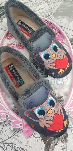 b5e7f2b3ebc Todos los tipos y diseños de zapatillas de casa y pantuflas. Zapatillas  para casa de