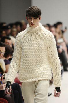 Ezra Constantine at Toronto Fashion Week 2012 (Carlos Osorio/TORONTO STAR)