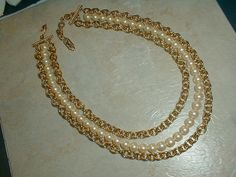 exquisite vintage ysl gold plated chain by fadedglitter42263, $875.00