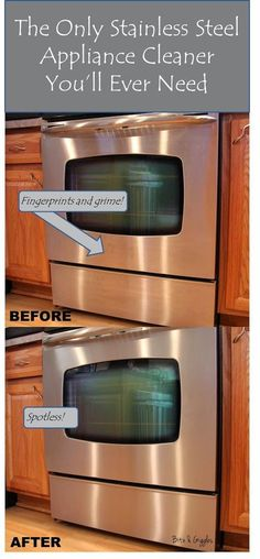 Clean your whole oven i didn 39 t know the door would open How to take scratches out of stainless steel appliances