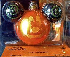 Product Features Disney Parks Halloween Pumpkin Ornament Made of Glass Halloween Ornaments, Halloween Trees, Glass Christmas Ornaments, Holidays Halloween, Halloween Pumpkins, Happy Halloween, Christmas Bulbs, Christmas Ideas, Xmas