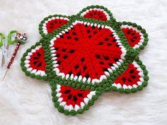 Crochet Potholders, Crochet Hats, Knit World, Crochet Fruit, Doilies, Pot Holders, Diy And Crafts, Crochet Earrings, Crochet Patterns