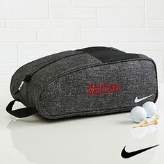 b620623db3e0 Find the best personalized sport and leisure gifts including the  Personalized Nike Golf Shoe Bag -